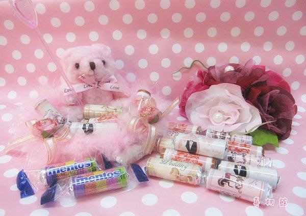 曼陀珠 喜糖盒 婚禮小熊 二次進場 創意喜糖 巧克力 金莎巧克力棒 婚禮小物 批發