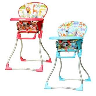 BabyBabe-兒童高腳餐椅(紅色/藍色)586