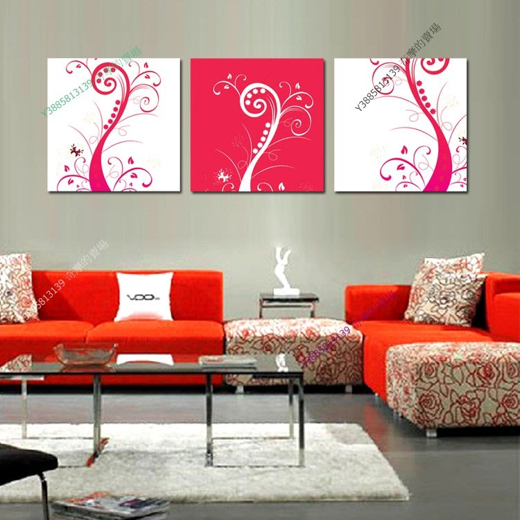 【60*60cm】【厚0.9cm】抽象畫-無框畫裝飾畫版畫客廳簡約家居餐廳臥室牆壁【280101_275】(1套價格)
