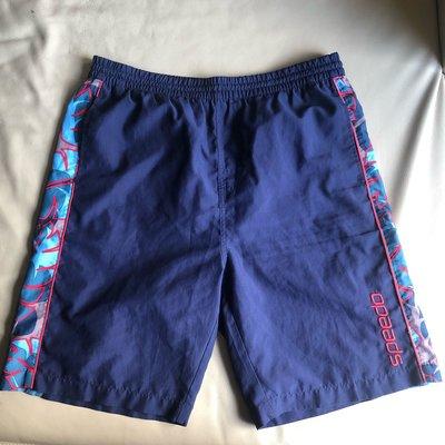[品味人生2]保證正品 SPEEDO   海灘褲 休閒短褲 size M  適合 L