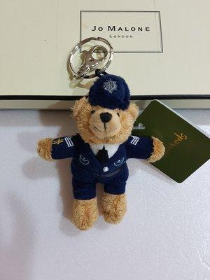 《Amy's shop 》harrods 超可愛藍色警察/郵差/風笛手/皇家衛兵/紅色衛兵小熊鑰匙圈~現貨
