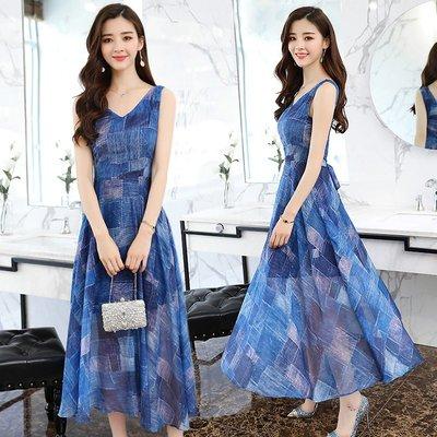 日韓服飾*免運費商品*波西米亞綁帶洋裝...