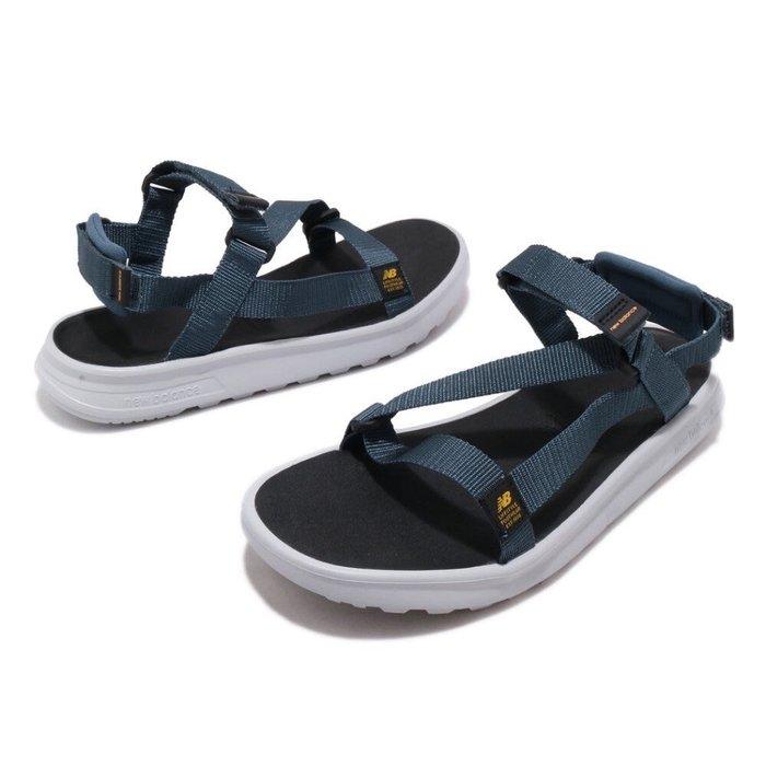 ➕S.P➕男女鞋 NEW BALANCE  NB 850 運動 休閒 涼鞋 海軍藍 SDL850SB