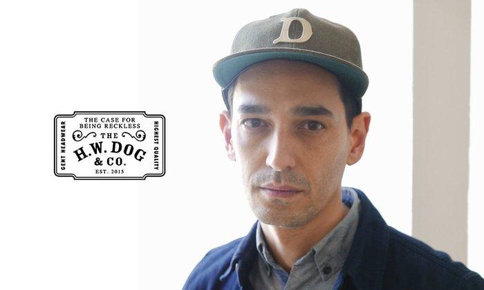 GOODFORIT / 日本H.W.DOG BASEBALL CAP六片式馬尾鹿毛皮革棒球帽/三色