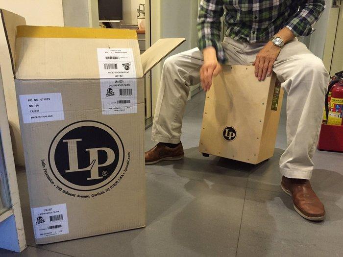 【六絃樂器】全新美國 LP 品牌 LPA-1331 Cajon 木箱鼓 / LATIN PERCUSSION