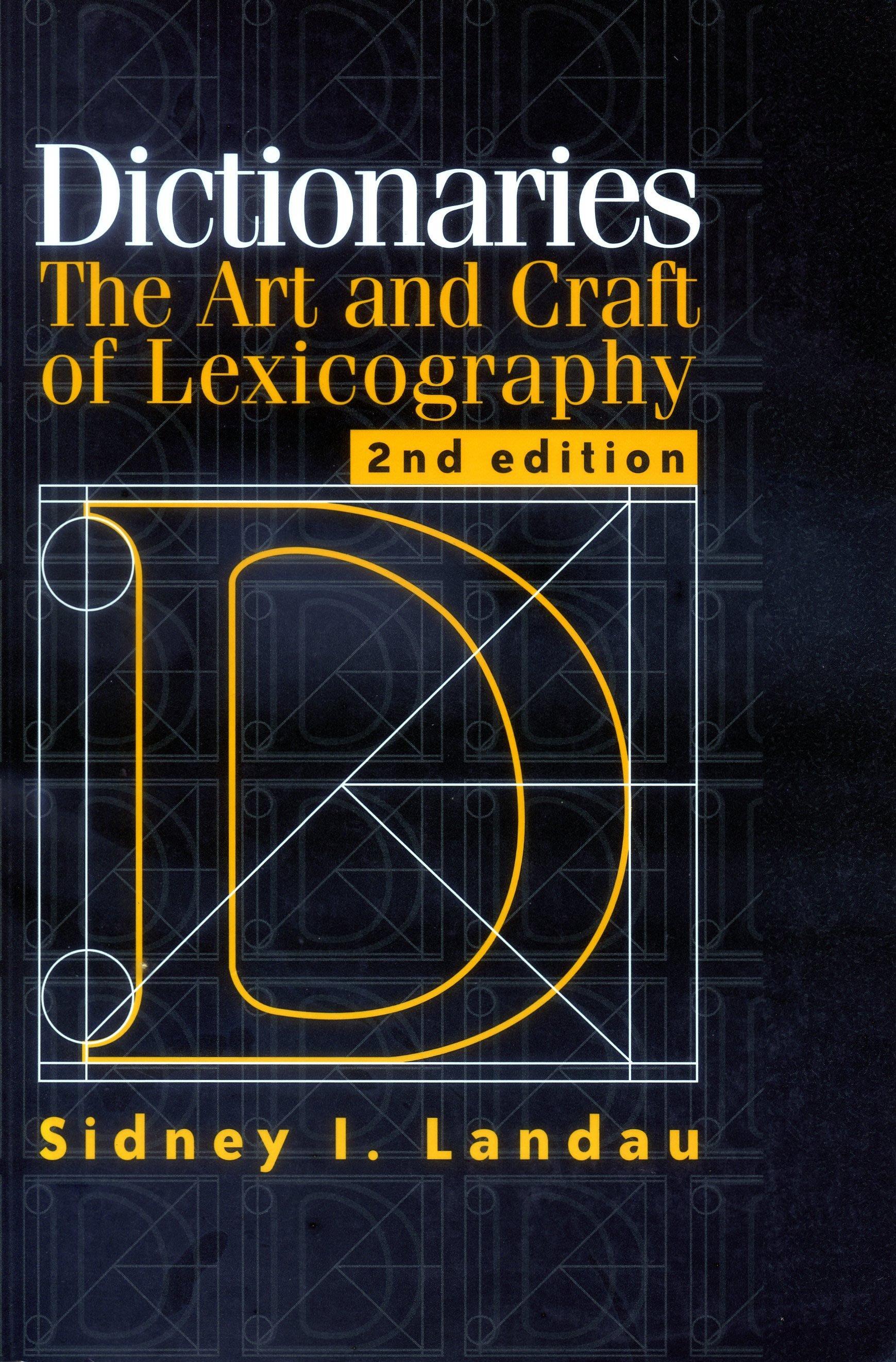 【特價/非二手/字典】Dictionaries: The Art and Craft of Lexicography