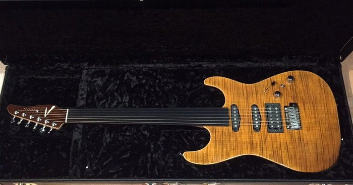 ☆ 收藏出讓︵☆ Tom Anderson Hollow Drop Top Tiger's Eye