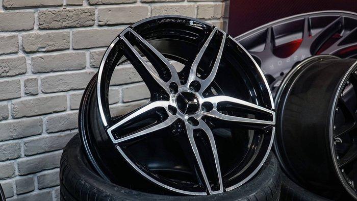 國豐動力 AMG W222 W221 GLC E COUPE W205 W213 S213 原廠19吋鋁圈一套 前ET20 8J 後ET49 9J 現貨特價