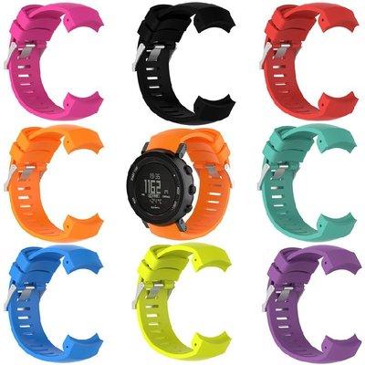 丁丁 頌拓 Suunto Core ALU black 繽紛炫彩核心系列智能手錶矽膠錶帶 環保材質 佩戴舒適 替換腕帶
