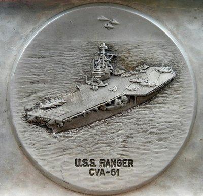 USS RANGER 遊俠 CVA-61 超級航空母艦   (1957~2004)   瑞士SIGG 製造