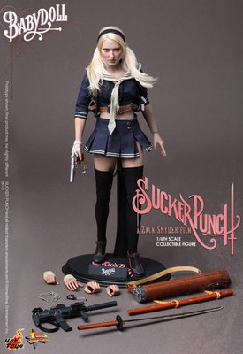 全新 Hot Toys MMS157 1/6 Sucker Punch 殺客同萌 Baby Doll 洋娃娃