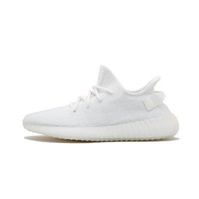 YEEZY BOOST 350 V2 CREAM WHITE 全白 編織 CP9366 男鞋