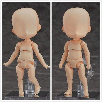 GSC 粘土人Doll 娃 素體 男 女 archetype Q版可動關節 擺件(不含頭) 唔西.迪西H227