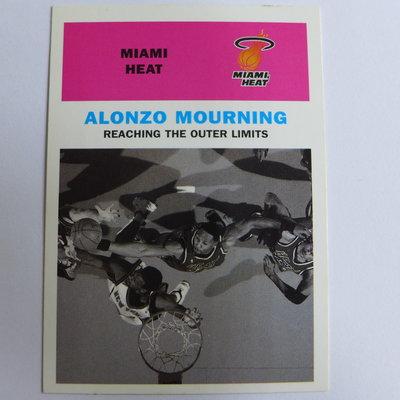~ Alonzo Mourning ~ 腎鬥士.名人堂/阿朗佐·莫寧 NBA球星/晨星 特殊卡 @11