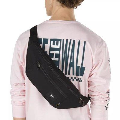 現貨!正品VANS WARD CROSS BODY PACK BLACK 范斯 側/斜背包 腰包 旅行包 胸包 - 黑色