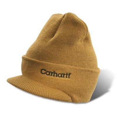 【Sunny Buy】◎預購◎CARHARTT A164 Knit Hat With Visor 棕色/卡其 針織/毛帽