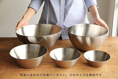 【樂樂日貨】*現貨*柳宗理 不鏽鋼 調理盆 五入組(13/16/19/23/27cm) 日本製 網拍最便宜