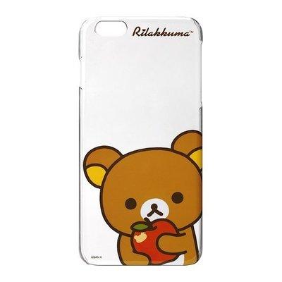 尼德斯Nydus~* 日本正版 拉拉熊 懶懶熊 手機殼 透明硬殼 iPhone6+ Plus 5.5吋 蘋果款