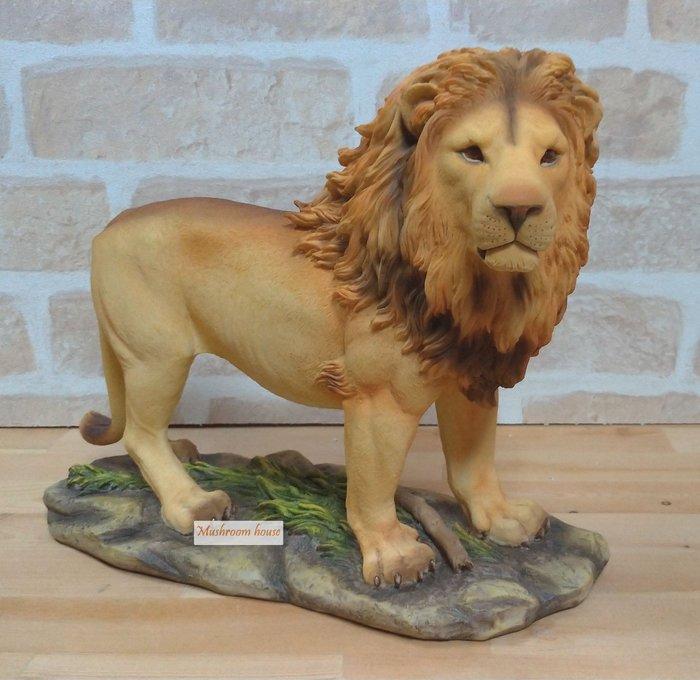 點點蘑菇屋 歐洲精品獅子擺飾 獅子王 野生動物 精品家飾 禮物 鄉村風雜貨 現貨 免運費