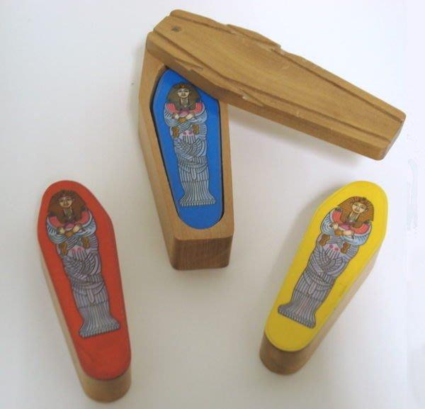 【天天魔法】【238】正宗原廠~ 神秘木乃伊 ~ (Mummy Mystery)  高品質木製 ~ 即將銷售一空