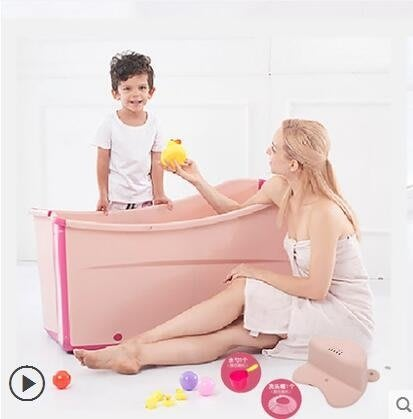 浴盆 泡澡桶 蒸汽浴泡湯 沐浴SPA 兒童洗澡盆 浴桶 浴缸衛浴設備 可摺疊 現貨YTL【摩登小鋪】