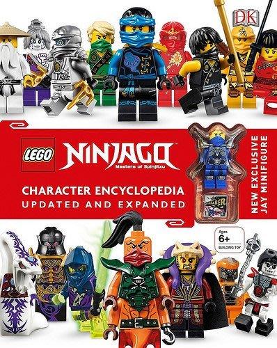 英國購入【LEGO 樂高】全新現貨 / 旋風忍者 NINJAGO: 223頁 人物百科全書 含人偶: 藍忍者 JAY