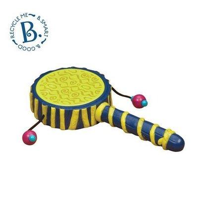【小不點童樂會】美國 B.Toys 感統玩具 波浪鼓 兒童玩具 台中可面交