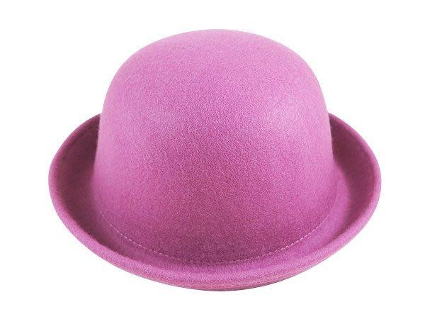 【二鹿帽飾】冬季vivi定番款 麻豆最愛‧小圓帽-紫粉.駝色.杏色