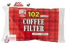【豐原哈比店面經營】KALITA 102 漂白濾紙 -100枚入 現貨供應