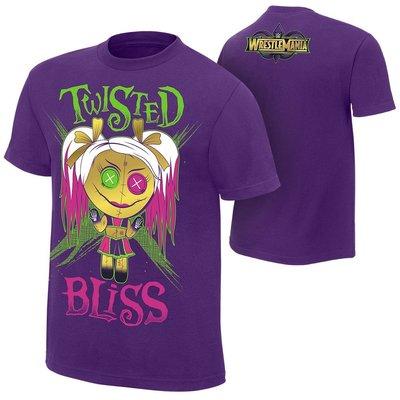 ☆阿Su倉庫☆WWE WrestleMania 34 Twisted Bliss T-Shirt 摔角狂熱最新款 特價中