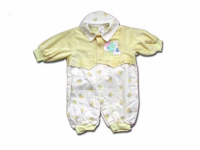 可愛寶貝---◎◎全新白兔繡花有領兩用嬰兒服---中厚◎◎☆☆人氣商品☆☆