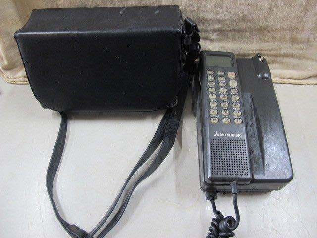 二手舖 NO.3814 早期行動電話 日本製 mitsubishi FM4021F03  手提式大哥大 電影道具 收藏