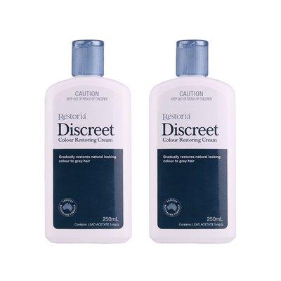 【歐美代購APS】Restoria 麗絲雅黑髮乳澳洲黑科技自然還原黑髮根源黑髮250ml*2瓶