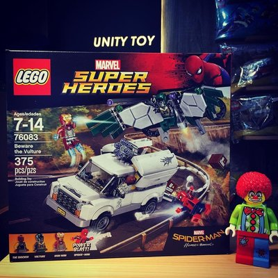 Lego 76083 Marvel Beware the Vulture (Unity Toy)