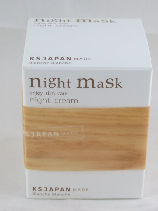 *日式雜貨館*日本免稅店 Blanche Blanche晚安面膜 night mask 日本製 售 EGF 5GF 馬油