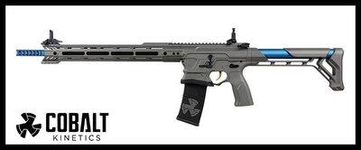 【原型軍品】全新 II 送硬殼槍箱 G&G COBALT BAMF Team 電動步槍 電子扳機