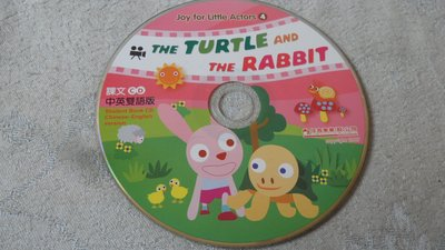 【彩虹小館】W06兒童CD~Joy for Little Actors 4 課文CD 中英雙語版~佳音