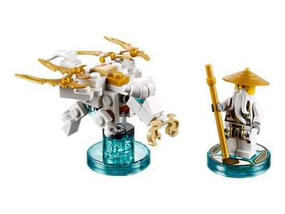 【LEGO 樂高 】100% 全新正品 益智玩具 積木/  忍者三合一次元系列 Sensei Wu 71234