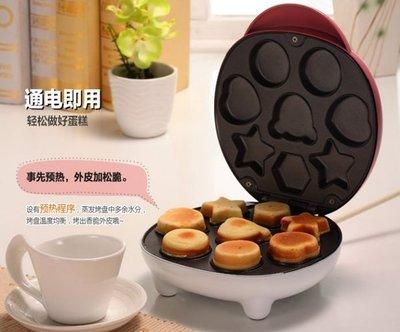 『格倫雅』Bear/小熊 DGJ-C6111家用蛋糕機全自動 多功能電餅鐺 正品^31489