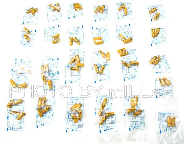 【米勒線上購物】國內外銷專業耳塞 無線泡棉式耳塞 防音SNR36db 買30送5 免運【下標區】