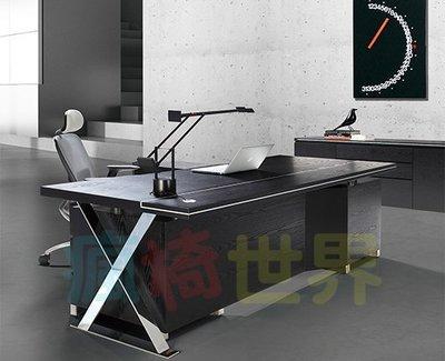 《瘋椅世界》OA辦公家具 全系列 訂製高級 主管桌 EN-A9035B(董事長桌/老闆桌/辦公桌/工作桌)需詢問