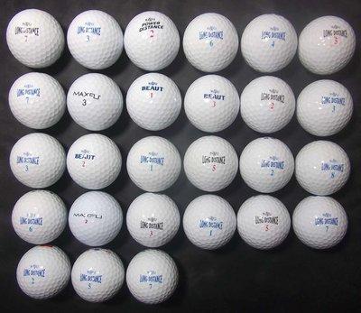 """*新威全高爾夫*~特級9~9.999成新""""MAXFLI """"綜合球(共27顆)"""
