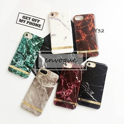 = envogue =Y32極簡 簡約 大理石紋 矽膠硬殼 iPhone6s/iPhone7 plus  硬殼$259