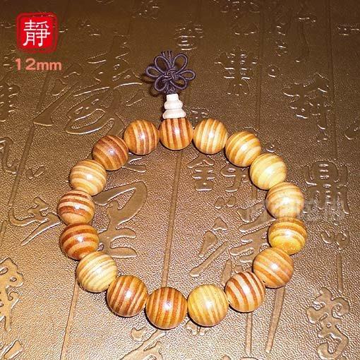 【靜心堂】帝王血龍木佛珠-淡香氣(12mm*17顆)