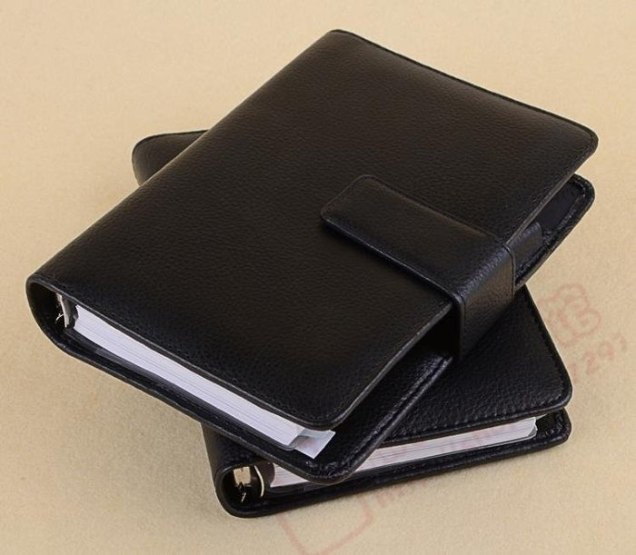 A6手賬高檔商務萬用手冊活頁內芯磁鐵扣可印字