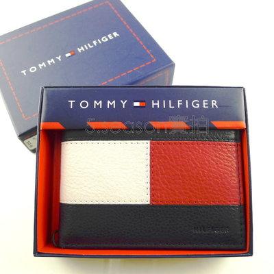◎TOMMY專櫃正品◎美國購入TOMMY HILFIGER 海軍藍logo零錢袋  短夾禮盒