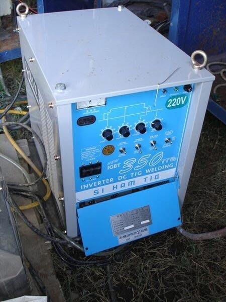 變頻式直流氬焊機350A