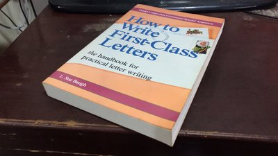 F11-1《好書321KB》【英日語學習】How to Write First-Class Letters