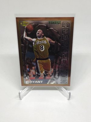 1996-97 Topps Finest  Kobe Bryant Rookie Card RC新人卡