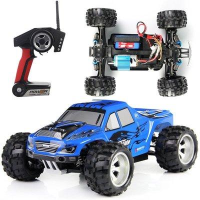 【曼曼寶貝 玩具館】免運費偉力A979全比例遙控四驅高速越野車2.4G遙控車 防震  防水 50KMH